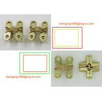 Buy cheap Brass / Gold 180 Degree Opening Invisible Hinge Soss Small Hinges SG-HC 104#1 from wholesalers