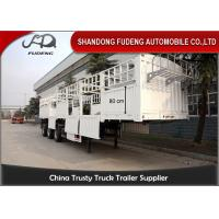 China Removable fence side wall semi trailer for transport cement in bags wholesale