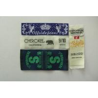 China Personalized Garment Labels / Recycled Woven Clothing Tags / Custom Clothing Labels wholesale