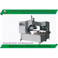 China Turntable Rotary Manual Blister Packing Machine With Sealing / Trimming Function on sale