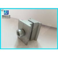 AL-6B Aluminum Tubing Joints Silvery Double Connector Warehouse Rack Application for sale