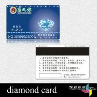 China 13.56MHZ Customized Plastic / PVC Magnetic Stripe Cards For Gift wholesale