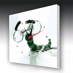 fashion glass frames  fashion wall clock wa2005