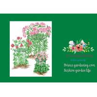 Mental Round Grow Through Plant Supports Keep Flowers Standing Tall
