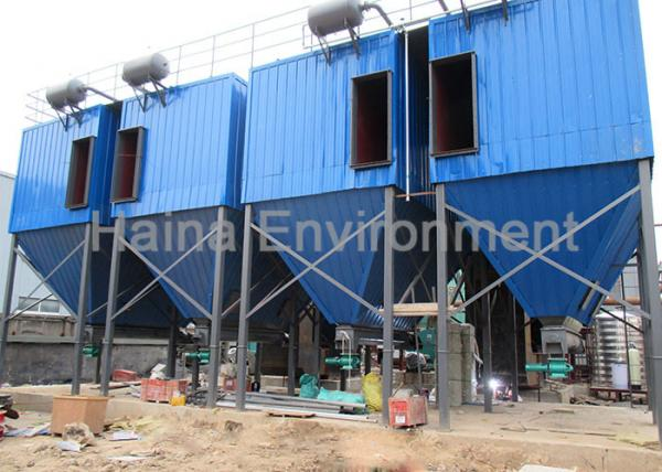Quality Environmental Friendly Bag House Dust Collector For Flue Gas Treatment for sale