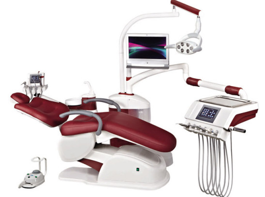 Quality A6800 Digital Dental Chair Unit Multi Function With Touch Screen Control System for sale