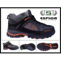 China Men's industrial safety shoes hiking shoes with steel toe for men black wholesale