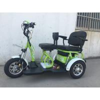 China 1000w Adult Electric Tricycle Scooter 60V/20Ah Lead Acid Drum Brake wholesale