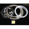 China Les modules ronds de l'ÉPI LED pour la LED percent un tunnel la lumière, 120*60 lentille optique du degré 56mm wholesale