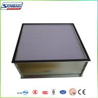 China Beverage Industry High Efficiency Air Filter for Clean Room AHU Air System on sale