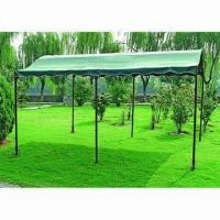Buy cheap 3 x 4 x 2.4m Slant Metal Gazebo with PA Coating from wholesalers