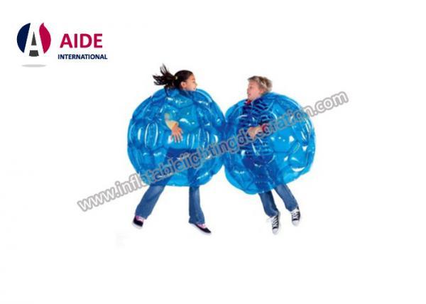 Quality Bola de futebol inflável da bolha do mini jogo de bola inflável para o pvc transparente das crianças 0.8mm for sale