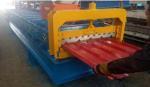 4kw 380V PPGI Roof Panel Roll Forming Machine For 840mm Width Steel Tiles