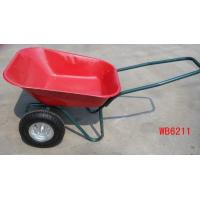 China wheelbarrow wheel barrow hand trolley garden tool cart dump wholesale