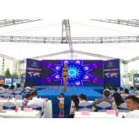 Buy cheap HD Full Color Outdoor LED Screen Rental , P4 Movie TV LED Video Wall Panels from wholesalers