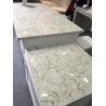 China CTQD504 Quartz Countertops For Kitchen Polished Artificial Quartz Stone Bench Top wholesale
