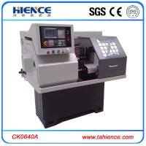 Small metal collets horizontal CNC turing lathe CK0640A