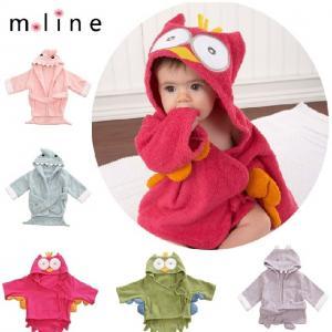 China New Hooded Animal modeling Baby Bathrobe/Cartoon Baby Towel/Character kids bath robe wholesale