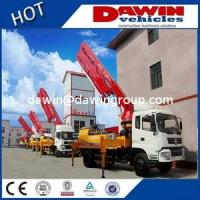 China CE Approved 18m 21m 25m 28m Truck Concrete Boom Pump Truck for Sale wholesale