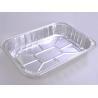 China Food Aluminum Foil Baking Pans Medium Size Rectangle For Meat Loaf wholesale