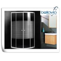 China Framed Sliding Door Quadrant Shower Enclosure 700 X 700 With 4mm Curved Glass on sale