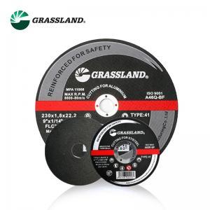 China 4 Inch 60 Grit Aluminium Oxide Abrasive Cut Off Wheel wholesale