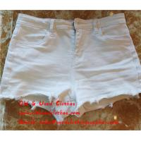 Buy cheap Slim Used Womens Shorts Second Hand Womens Jean Shorts Adults Age Group from wholesalers
