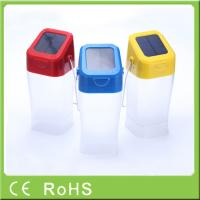 Hot sell innovative cheap price emergency hanging rechargeable LED solar light