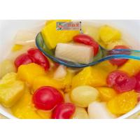 China New Season Canned Fruit Cocktail OEM High Temperature Sterilization wholesale