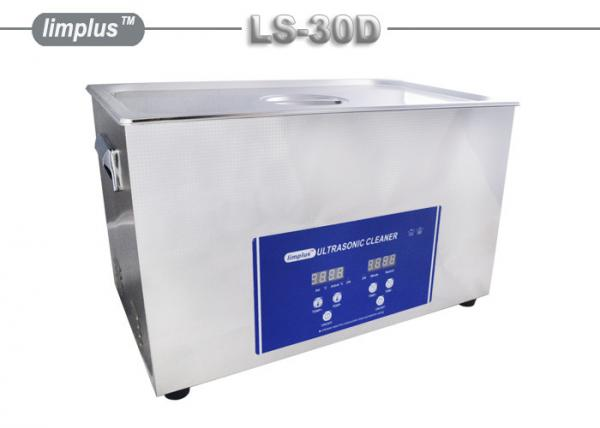 30Liter 600W SUS Digital Benchtop Ultrasonic Cleaner for Auto Injectors Degrease