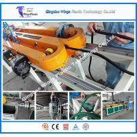 China Plastic PE PP Corrugated Hose Production Line Flexible Single Wall Corrugated Pipe Manufacture Machine wholesale