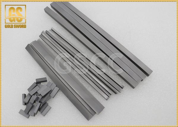 Quality High Hardness Rectangular Carbide Blanks RX10 For Solid Wood / Dry Wood for sale