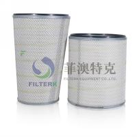 China Air Compressor Dust Collector Filter Cartridge , Hepa Washable Air Cleaner Filter wholesale