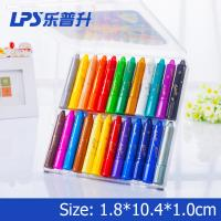 China Bright Color Super Smooth Water Based Crayons For School Student 24 Colors wholesale