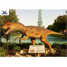 China Outside Realistic Dinosaur Lawn Decorations High Simulated Lifesize Or Customized Size wholesale