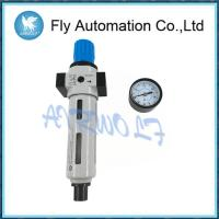 China Fully Automatic Air Compressor Filter Regulator Silver Color Metal Bowl Guard on sale