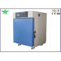 Buy cheap 0.1℃ Stainless Steel Hot Air Circulating Industrial Drying Oven About 6 ºC / min from wholesalers
