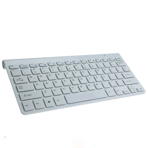 Quality White / Black Slim Mini iPad Bluetooth Keyboards Built-in Lithium Battery for sale