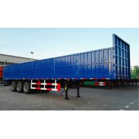 China Storage Container Delivery Trailer 3 Axles Steel Cargo Container Chassis Trailer wholesale