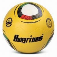 China World Cup Soccer Ball, Made of Rubber, Customized Logos are Accepted, Available in Size of 5 wholesale