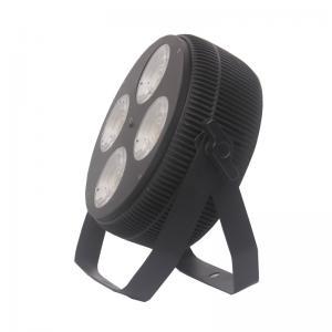 China 4x40W RGBW LED Mini DMX Par Can Lights 12° Beam Angle wholesale