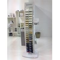 China 44 Pieces Square Quartz Tile Display Racks / Tile Show Stand For Stone Products wholesale
