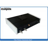 Buy cheap 900Mhz AV Wireless Transmitter 10W Anlogue Long Range Video Receiver & Transmitter 30km from wholesalers