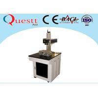 China Laser Marking Medical Devices 30W , Air Cooled Laser Marking Machine For Metal on sale