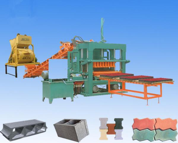 Colored Hydraulic Cement : Machine block images