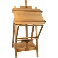 China Portable Table Top Painting Easels For Large Frame , Tabletop Drawing Board Easel 128cm Height on sale