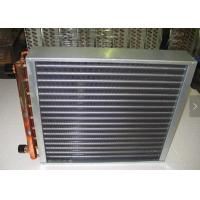 China Aluminum Fin Type Heat Exchanger Treated With Powder Coating Prevent Corrosion wholesale