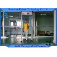 China Door Frame Multi Zone Metal Detector Archway / Body Walk Through Security Gate wholesale