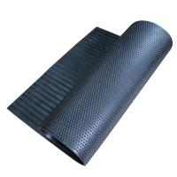 China Industrial Round Stud Horse Trailer Floor Mats , Durable Rubber Stable Mats wholesale