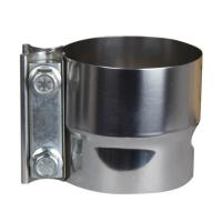 China Tube 3 Inch Lap Joint Band Exhaust Clamp CNC Laser Cutting Processing wholesale